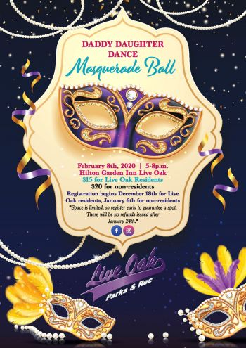 Daddy Daughter Dance Masquerade Ball