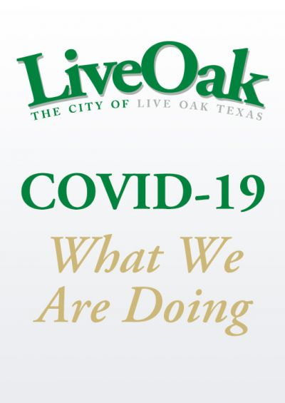 COVID-19: What we are doing