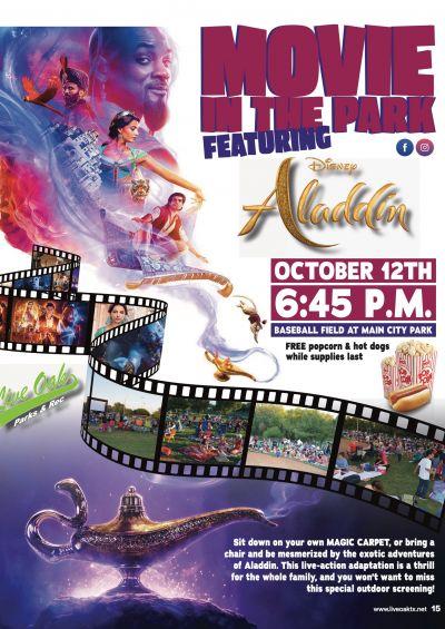 Movie In The Park - Aladdin