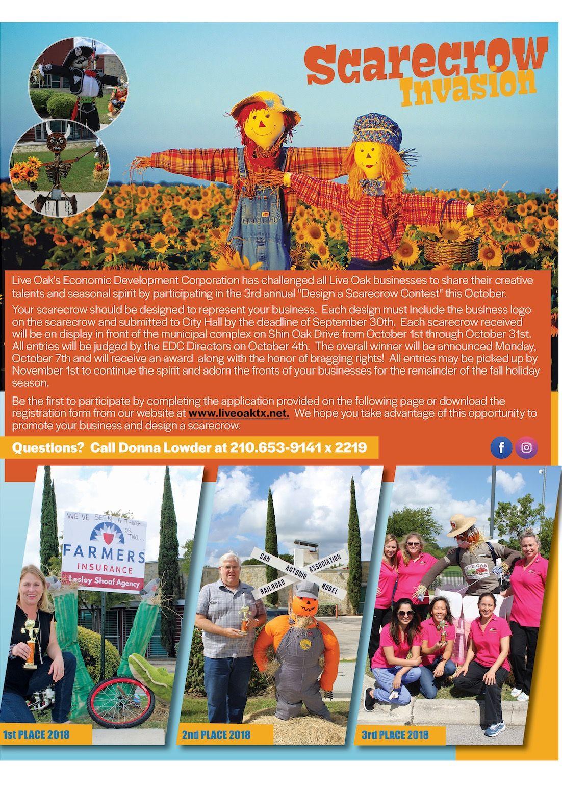 Design a Scarecrow Contest Signup