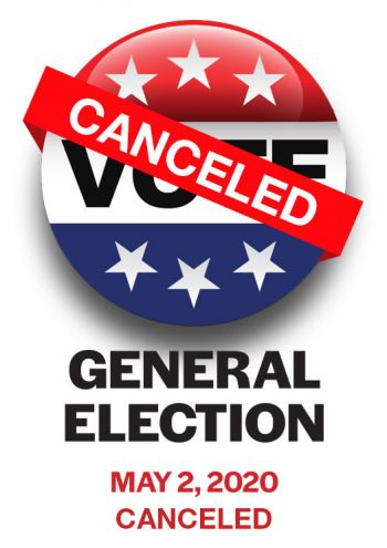 General Election - Canceled