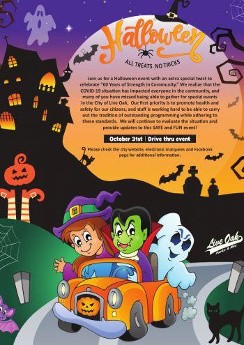 Halloween Drive-thru Event