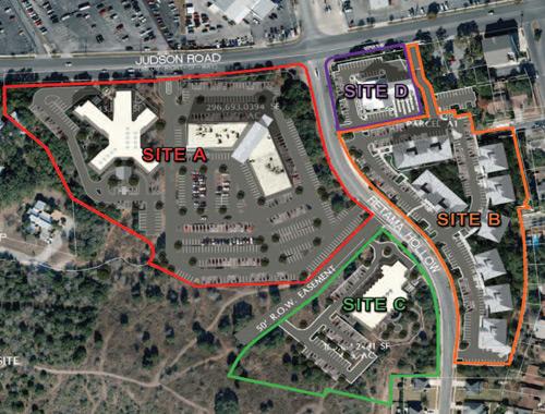 Live Oak Development Site - Judson Rd