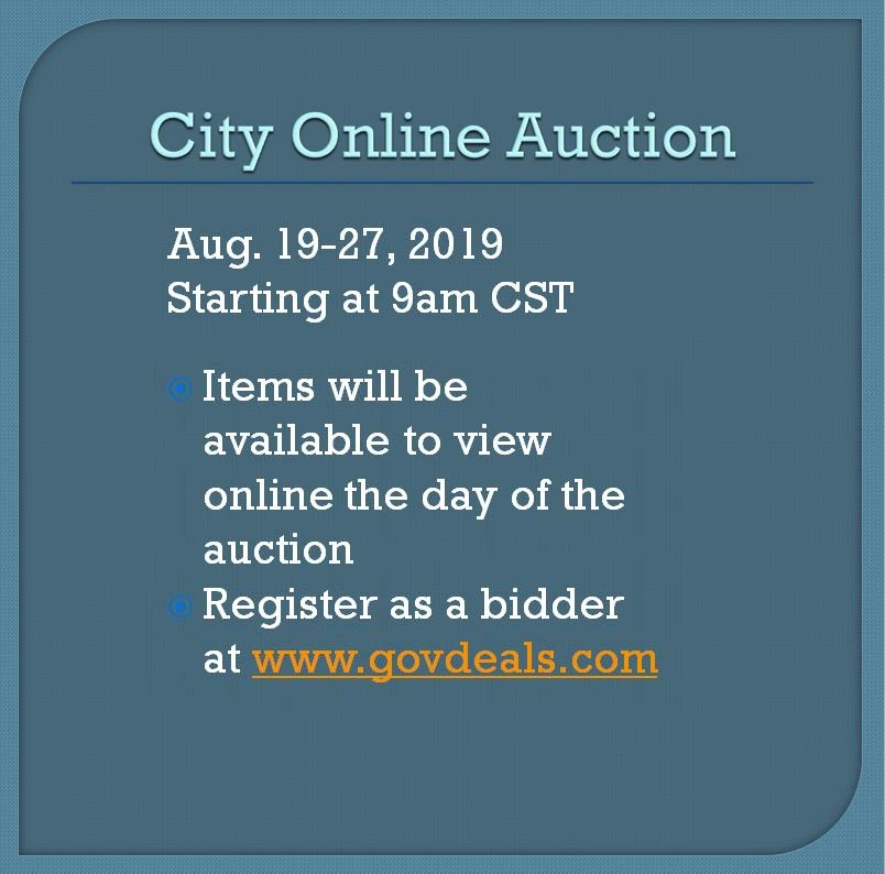 City Online Auction