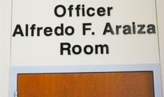 Officer Alfredo F. Araiza room