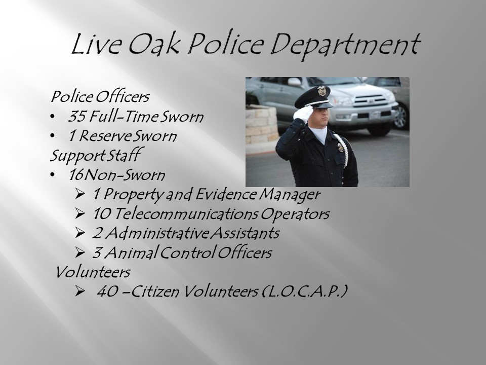 City of Live Oak - Police