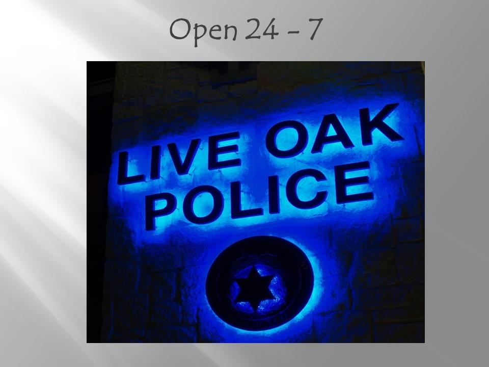 City of Live Oak - About Us